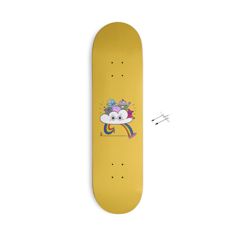 Cloud of diversity Accessories With Hanging Hardware Skateboard by thiagoegg's Artist Shop
