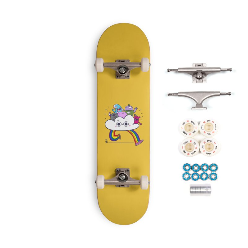 Cloud of diversity Accessories Complete - Premium Skateboard by thiagoegg's Artist Shop