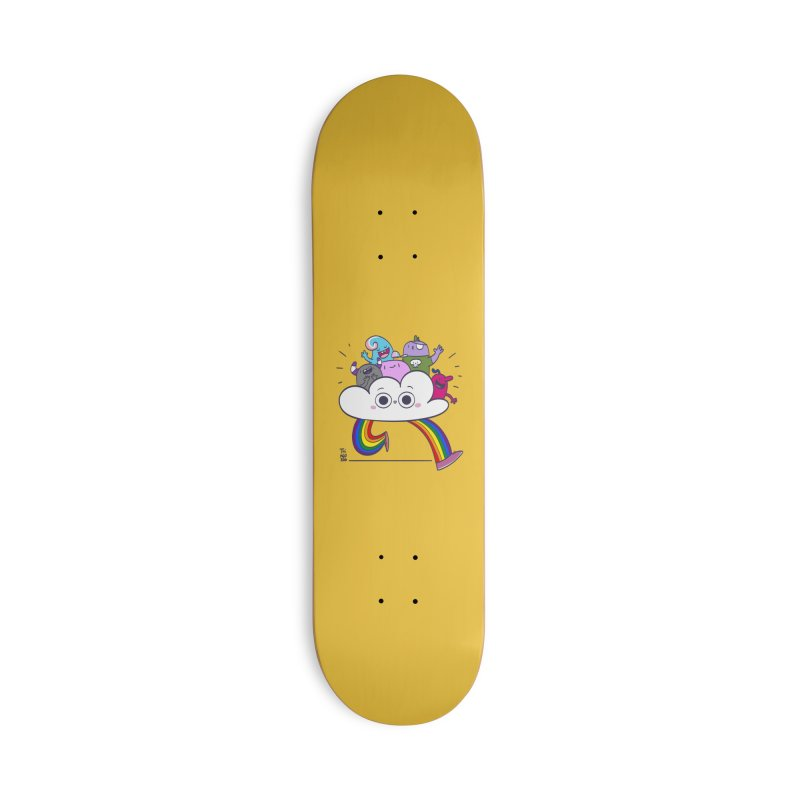 Cloud of diversity Accessories Deck Only Skateboard by thiagoegg's Artist Shop