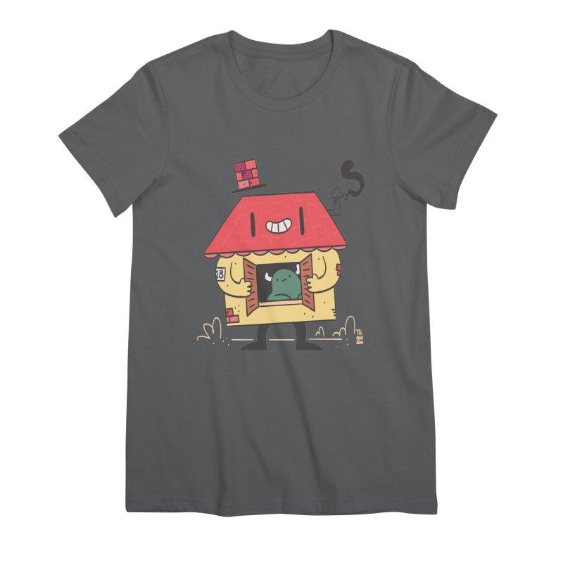 Casinha Women's T-Shirt by thiagoegg's Artist Shop