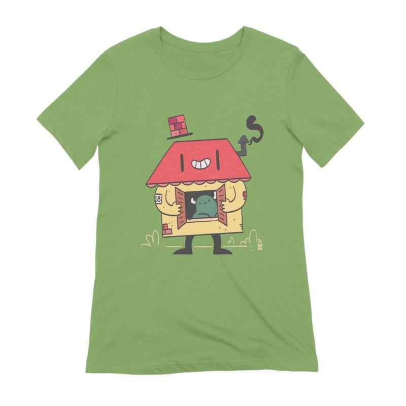 Casinha Women's Extra Soft T-Shirt by thiagoegg's Artist Shop