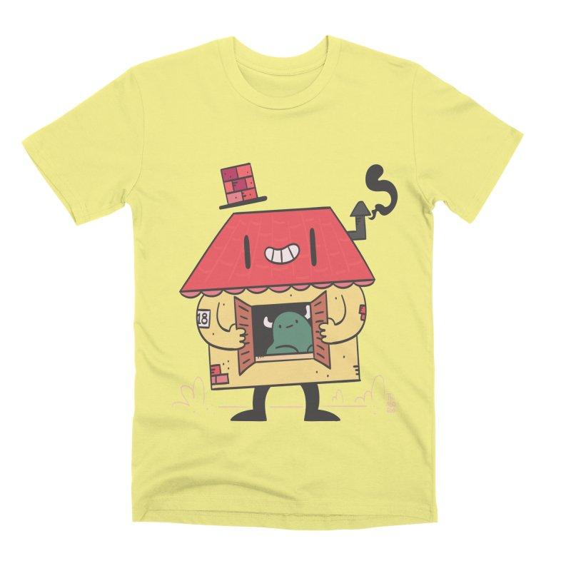 Casinha Men's Premium T-Shirt by thiagoegg's Artist Shop