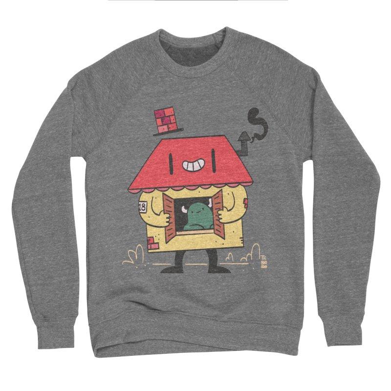 Casinha Men's Sponge Fleece Sweatshirt by thiagoegg's Artist Shop