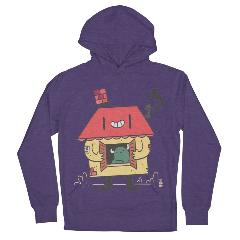 Casinha Men's French Terry Pullover Hoody by thiagoegg's Artist Shop
