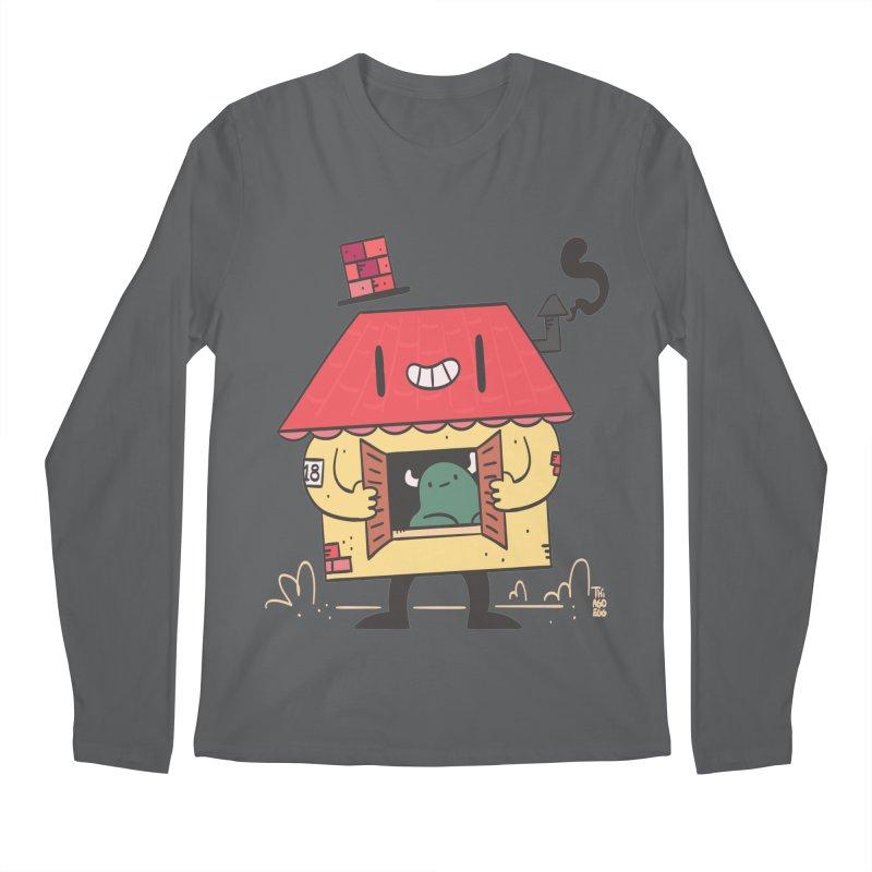 Casinha Men's Longsleeve T-Shirt by thiagoegg's Artist Shop
