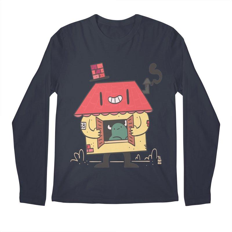 Casinha Men's Regular Longsleeve T-Shirt by thiagoegg's Artist Shop