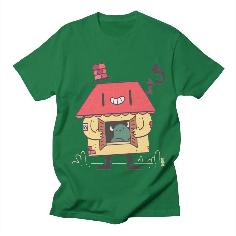 Casinha Men's Regular T-Shirt by thiagoegg's Artist Shop