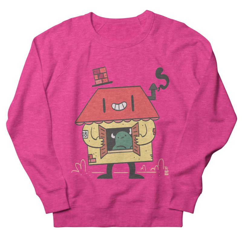 Casinha Women's French Terry Sweatshirt by thiagoegg's Artist Shop