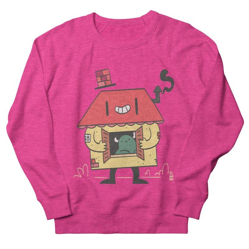 Casinha Men's French Terry Sweatshirt by thiagoegg's Artist Shop