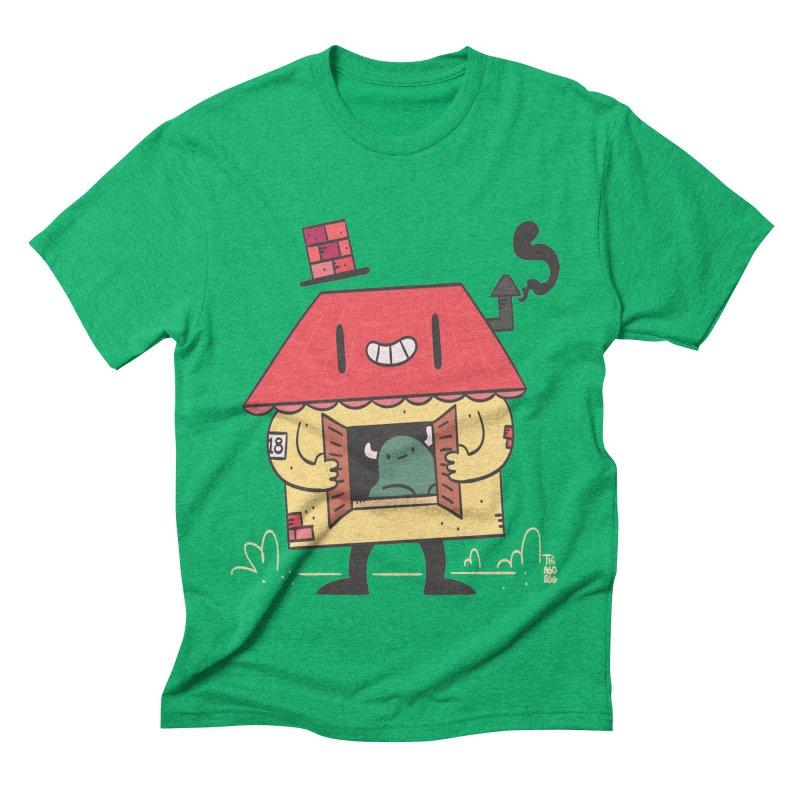 Casinha Men's Triblend T-Shirt by thiagoegg's Artist Shop