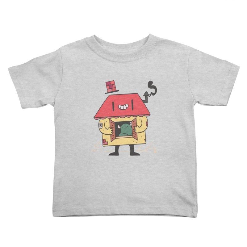 Casinha Kids Toddler T-Shirt by thiagoegg's Artist Shop