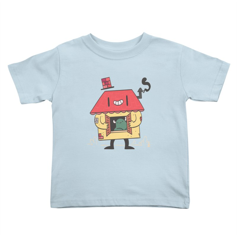 Casinha in Kids Toddler T-Shirt Baby Blue by thiagoegg's Artist Shop