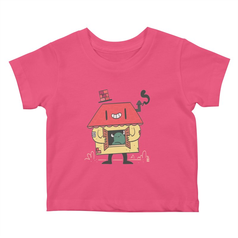 Casinha Kids Baby T-Shirt by thiagoegg's Artist Shop