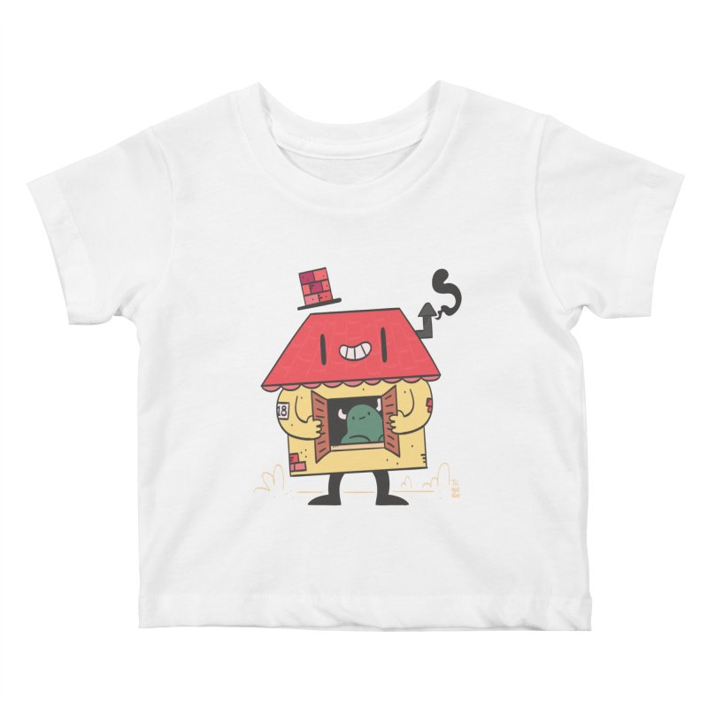 Casinha Kids Baby T-Shirt by thiagoegg's Artist Shop