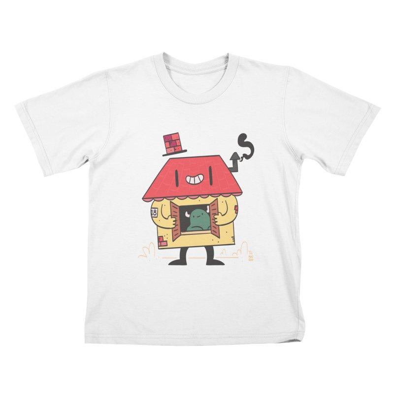 Casinha Kids T-Shirt by thiagoegg's Artist Shop