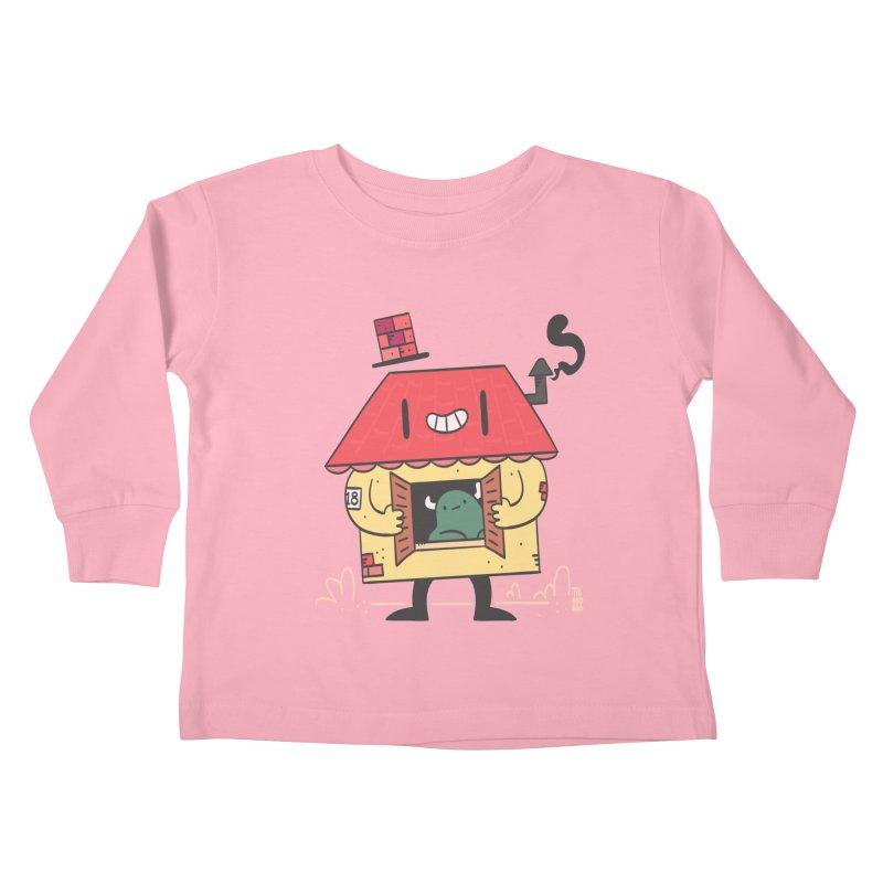 Casinha Kids Toddler Longsleeve T-Shirt by thiagoegg's Artist Shop