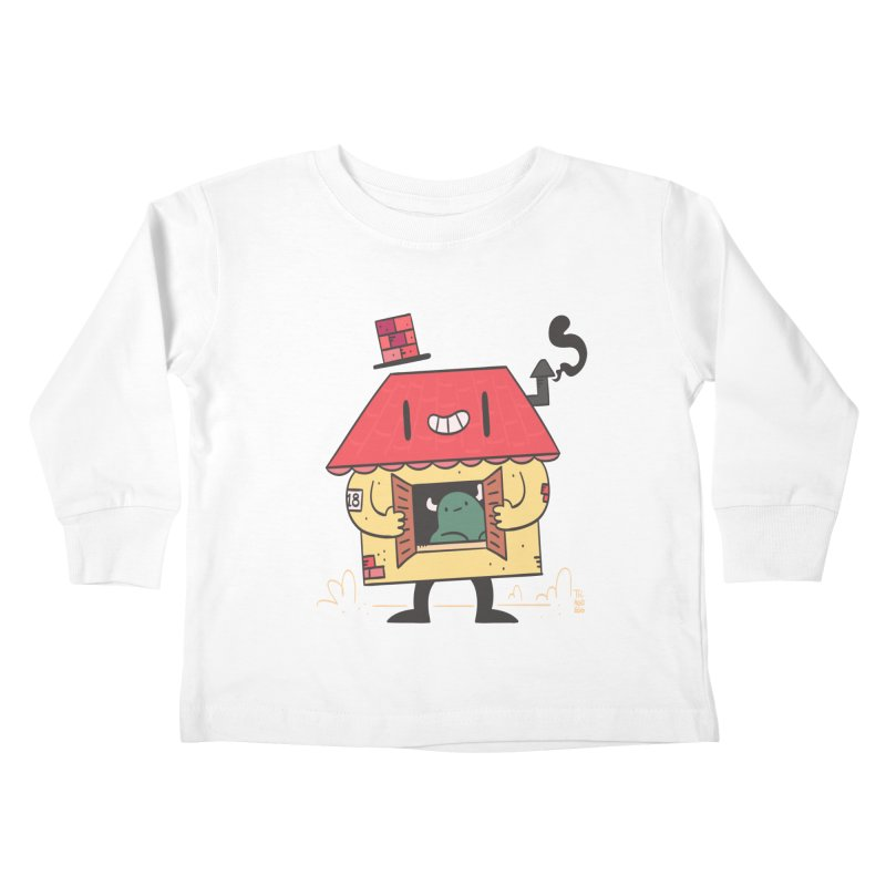Casinha Kids Toddler Longsleeve T-Shirt by thiagoegg's Artist Shop