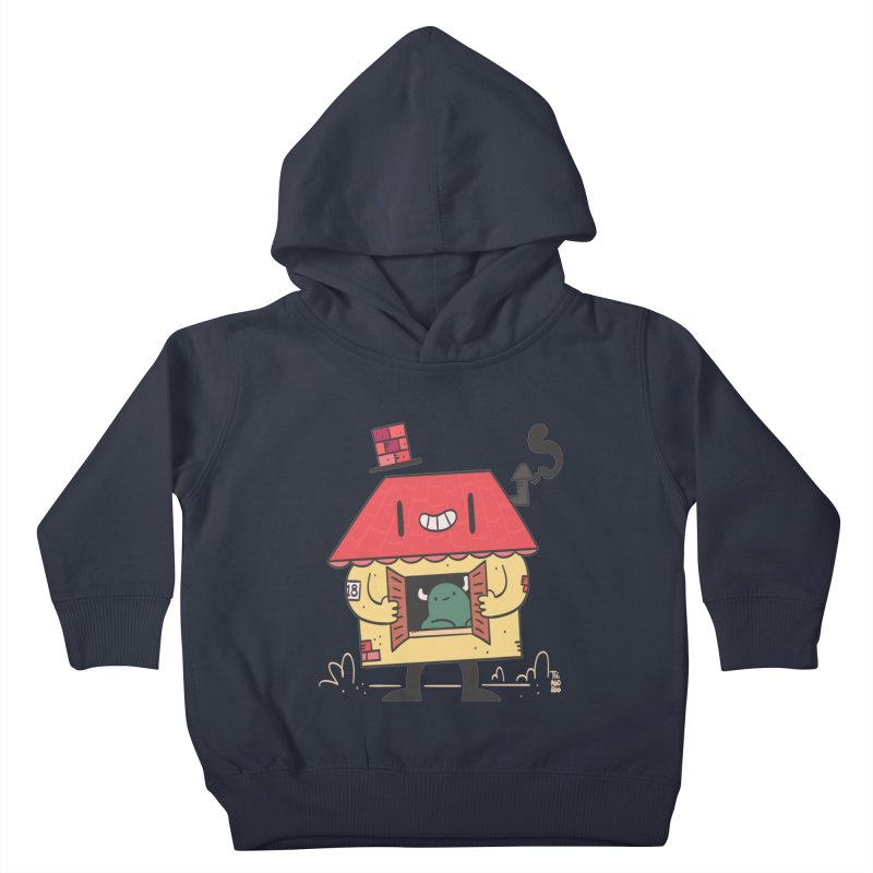 Casinha Kids Toddler Pullover Hoody by thiagoegg's Artist Shop