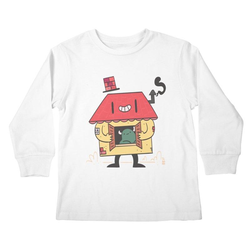 Casinha Kids Longsleeve T-Shirt by thiagoegg's Artist Shop