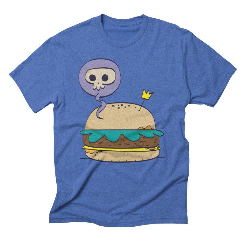 Death Burger Men's T-Shirt by thiagoegg's Artist Shop