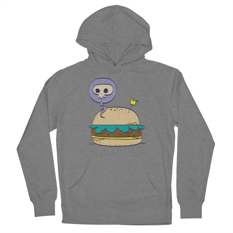 Death Burger Women's Pullover Hoody by thiagoegg's Artist Shop
