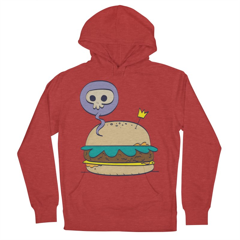 Death Burger Women's Pullover Hoody by thiagoegg's Artist Shop