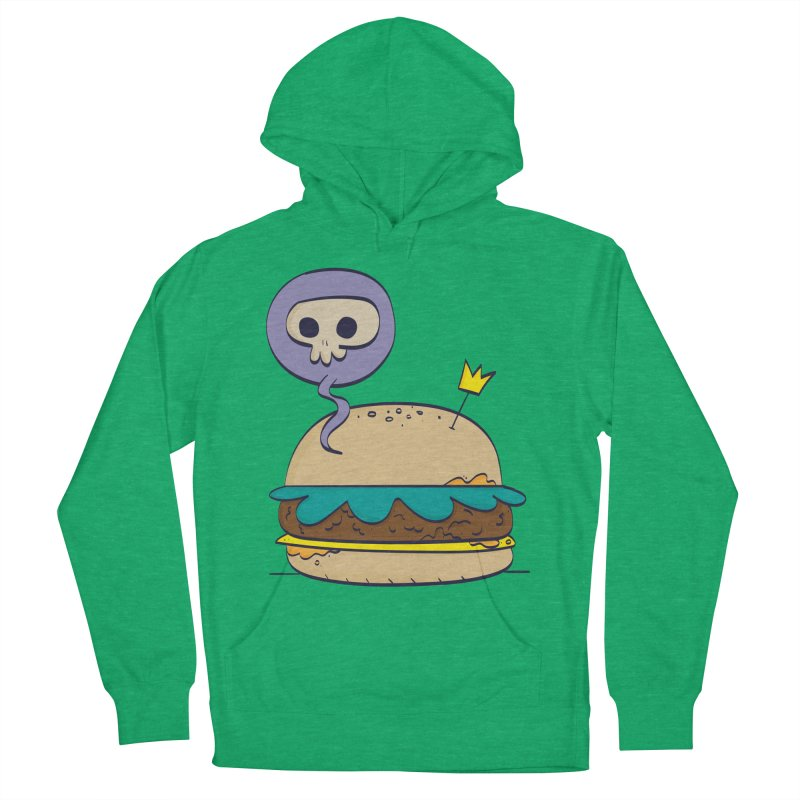 Death Burger Men's Pullover Hoody by thiagoegg's Artist Shop