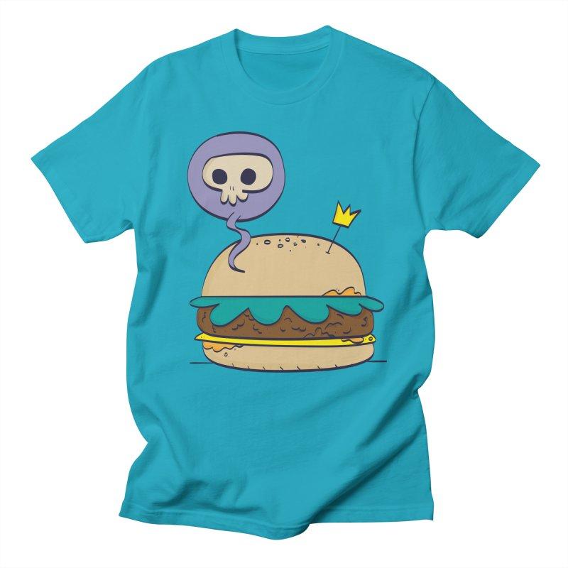 Death Burger Men's Regular T-Shirt by thiagoegg's Artist Shop