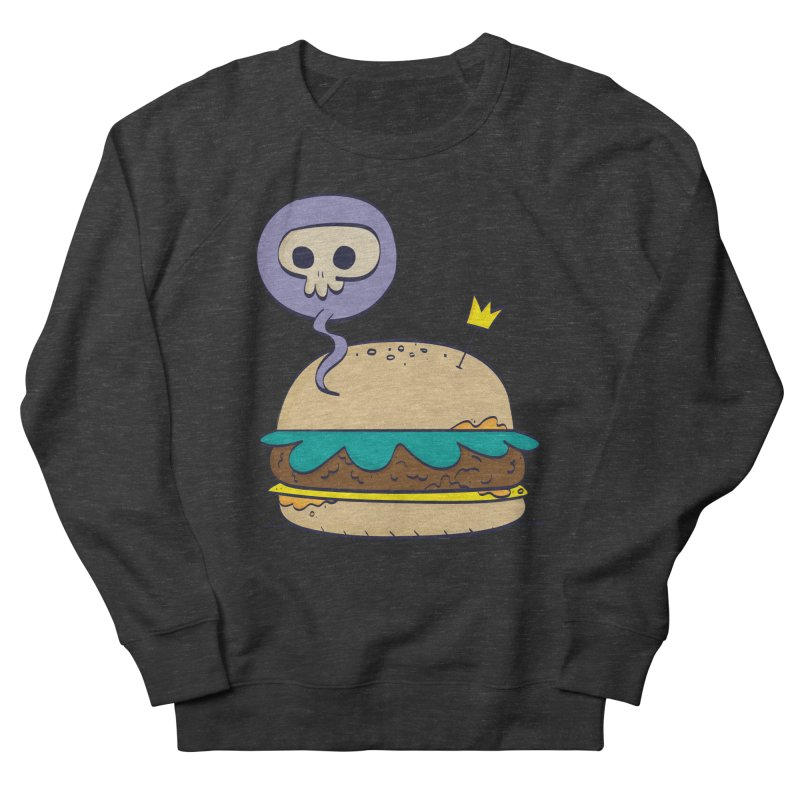 Death Burger Women's Sweatshirt by thiagoegg's Artist Shop