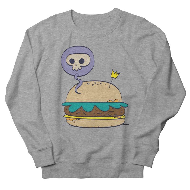 Death Burger Women's French Terry Sweatshirt by thiagoegg's Artist Shop