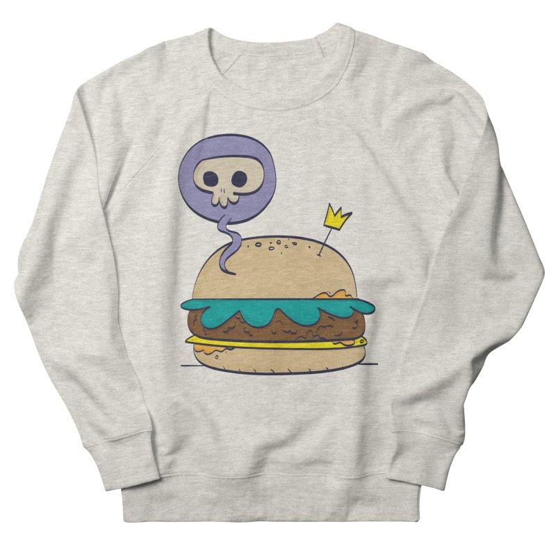 Death Burger Women's Sweatshirt by thiagoegg's Artist Shop