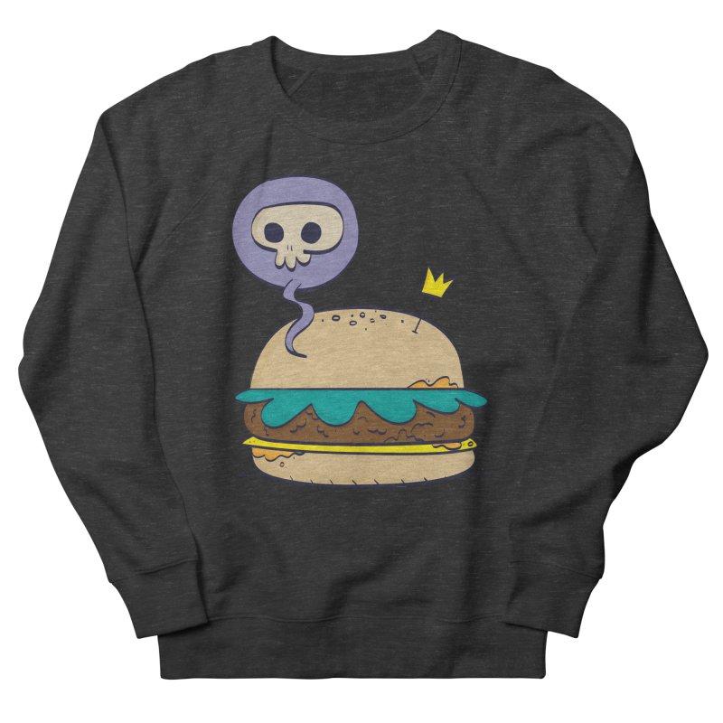Death Burger Men's Sweatshirt by thiagoegg's Artist Shop