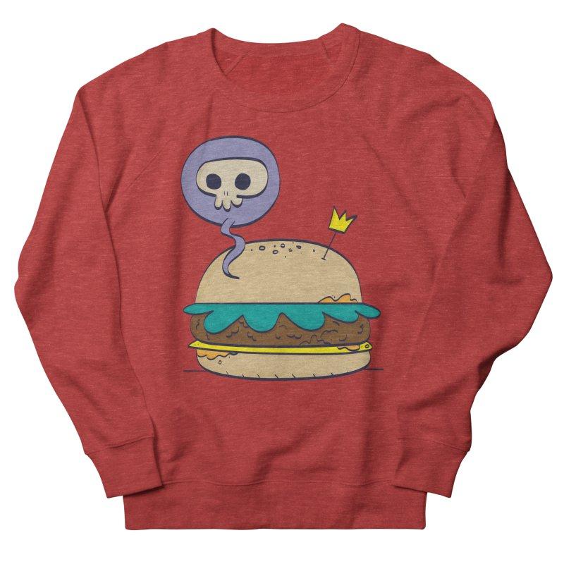Death Burger Men's French Terry Sweatshirt by thiagoegg's Artist Shop