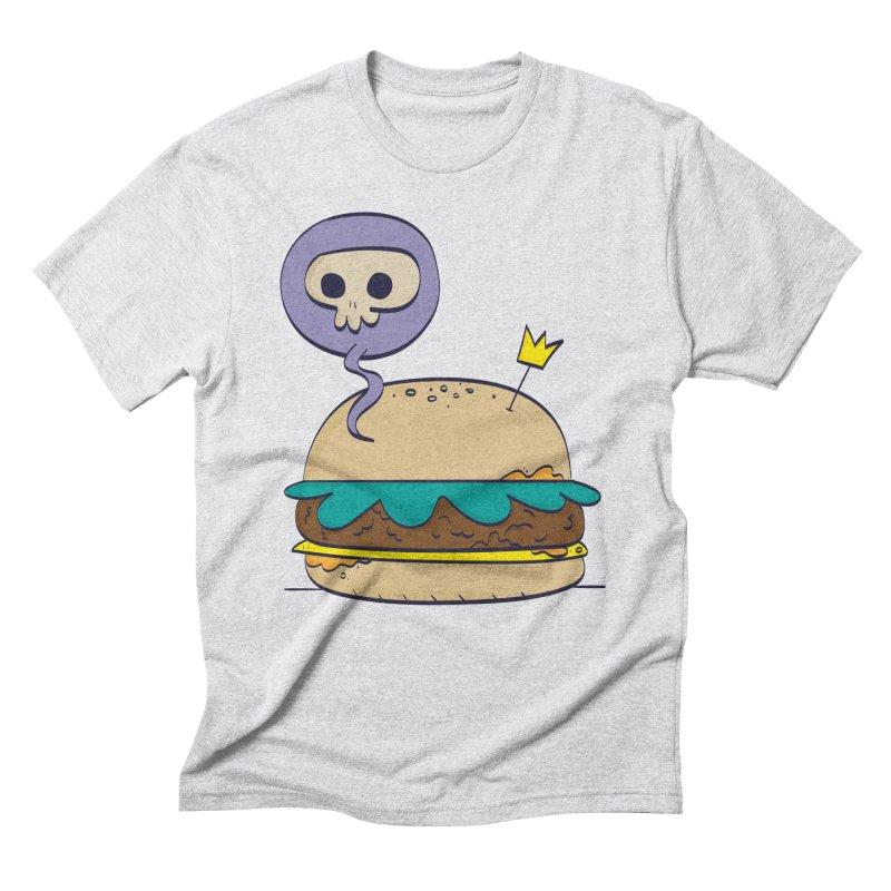 Death Burger Men's Triblend T-Shirt by thiagoegg's Artist Shop