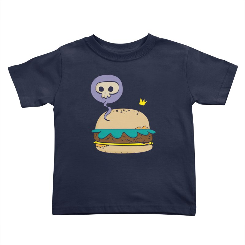 Death Burger Kids Toddler T-Shirt by thiagoegg's Artist Shop