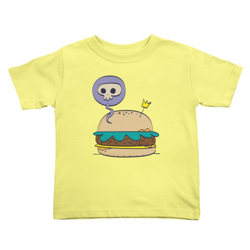 Death Burger Kids Toddler T-Shirt by thiagoegg's Artist Shop