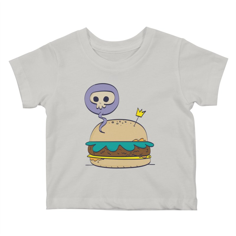Death Burger Kids Baby T-Shirt by thiagoegg's Artist Shop