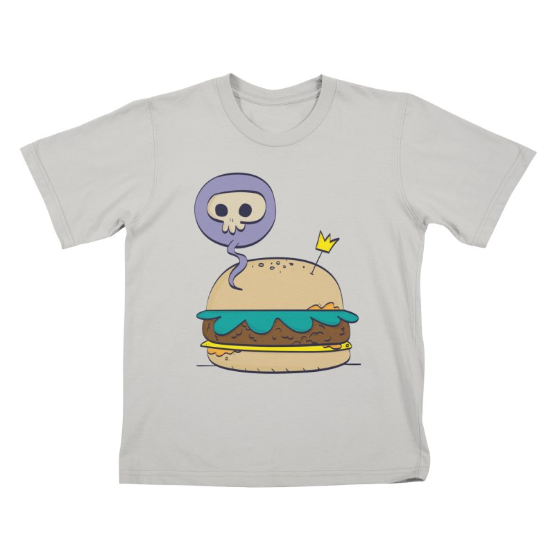 Death Burger Kids T-Shirt by thiagoegg's Artist Shop