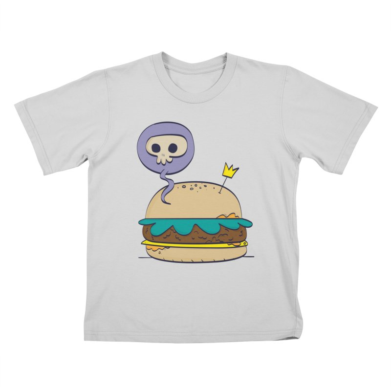 Death Burger Kids T-Shirt by thiagoegg's Artist Shop