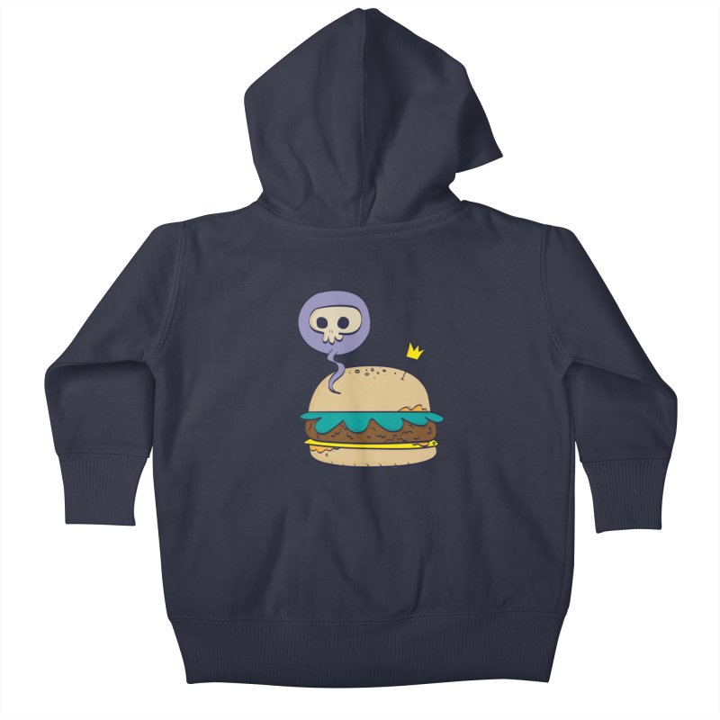 Death Burger Kids Baby Zip-Up Hoody by thiagoegg's Artist Shop