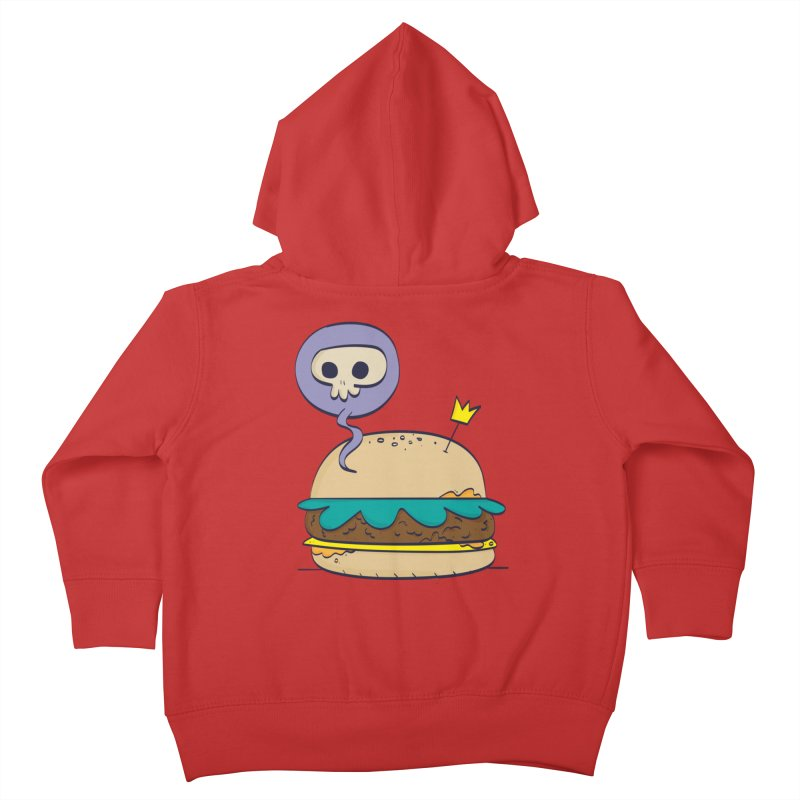 Death Burger Kids Toddler Zip-Up Hoody by thiagoegg's Artist Shop