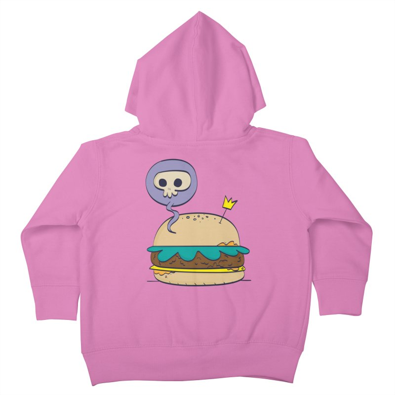 Death Burger Kids Toddler Zip-Up Hoody by thiagoegg's Artist Shop