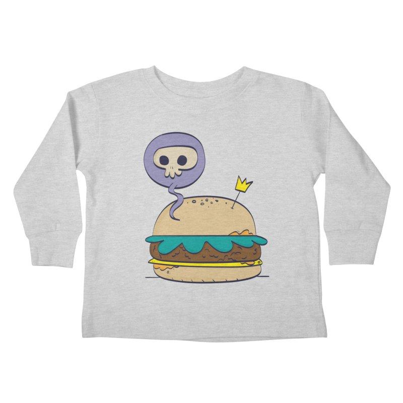 Death Burger Kids Toddler Longsleeve T-Shirt by thiagoegg's Artist Shop