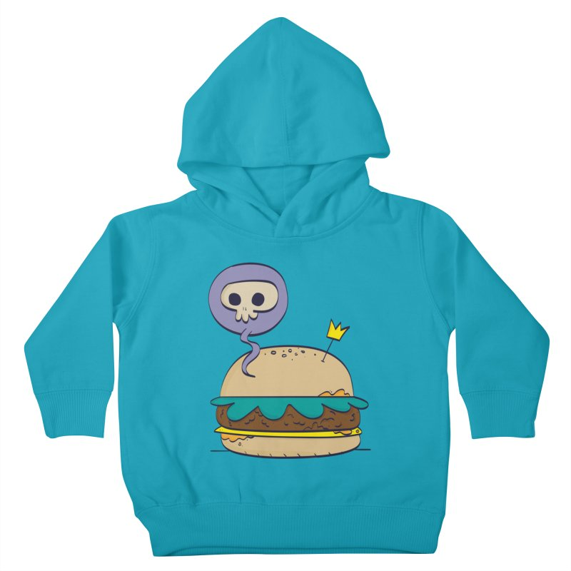 Death Burger Kids Toddler Pullover Hoody by thiagoegg's Artist Shop