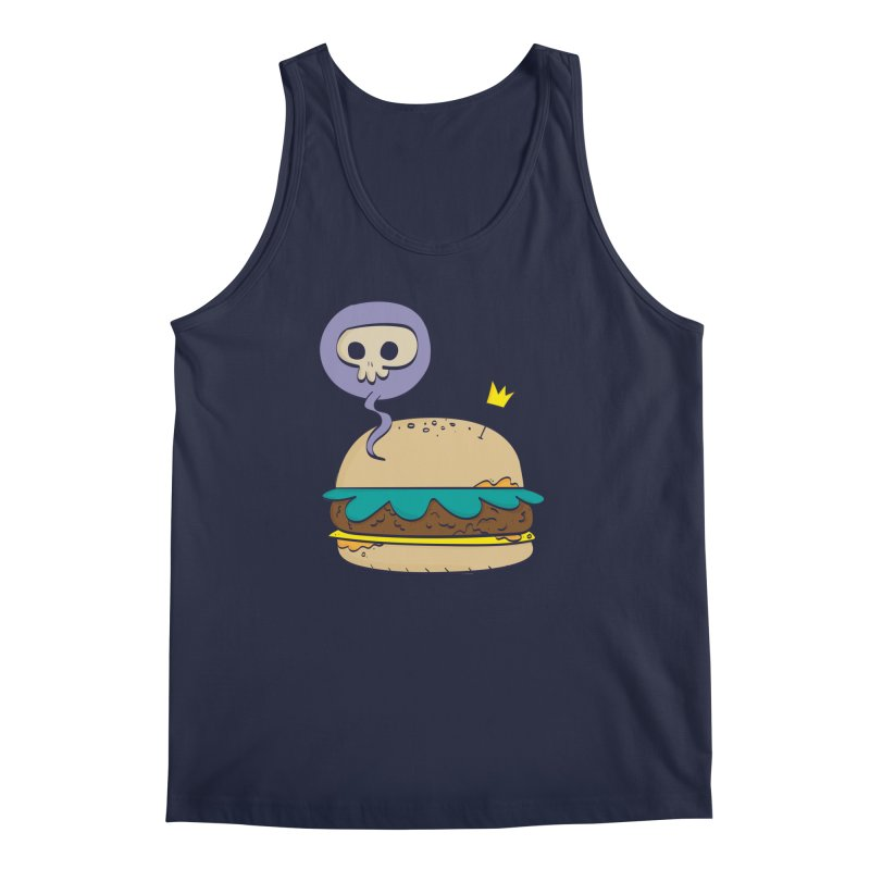 Death Burger Men's Tank by thiagoegg's Artist Shop