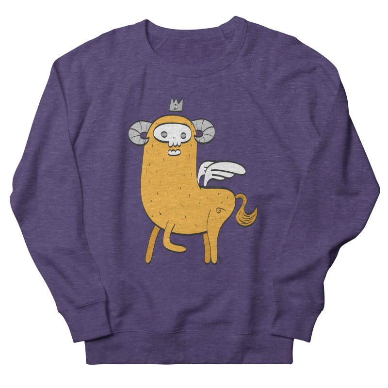 Chimera in Men's French Terry Sweatshirt Heather Purple by thiagoegg's Artist Shop