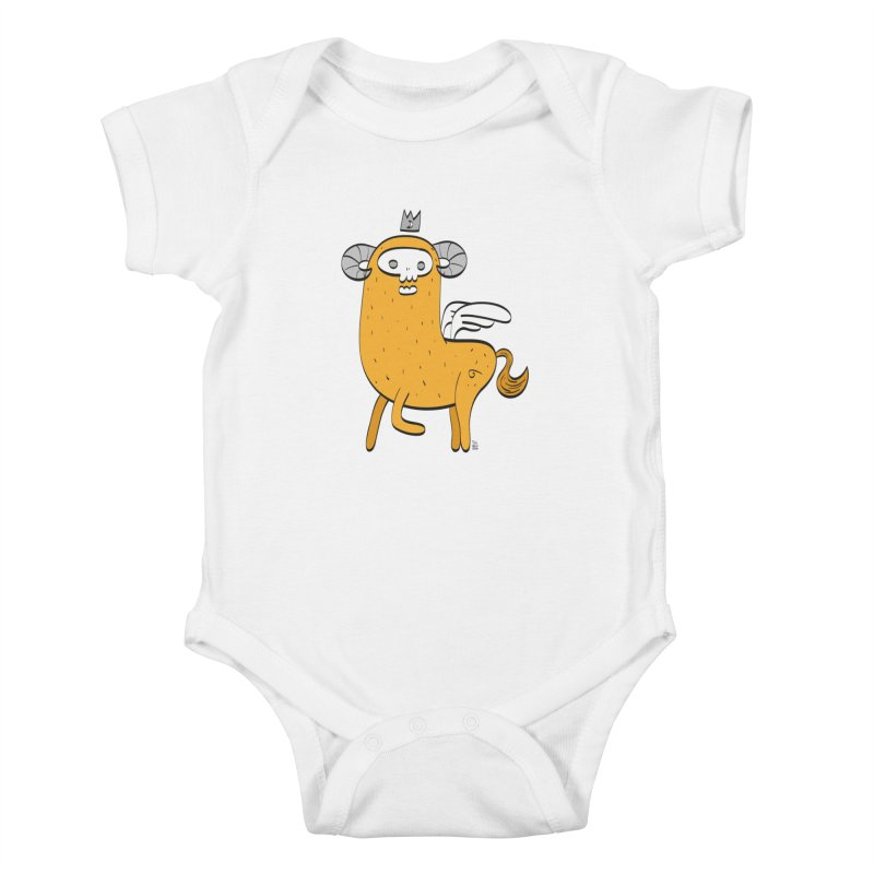 Chimera Kids Baby Bodysuit by thiagoegg's Artist Shop