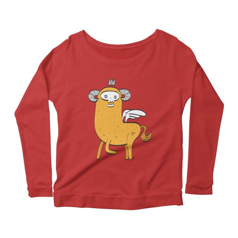 Chimera Women's Scoop Neck Longsleeve T-Shirt by thiagoegg's Artist Shop