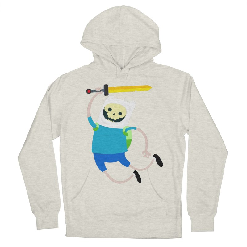Finn the Skull Women's French Terry Pullover Hoody by thiagoegg's Artist Shop