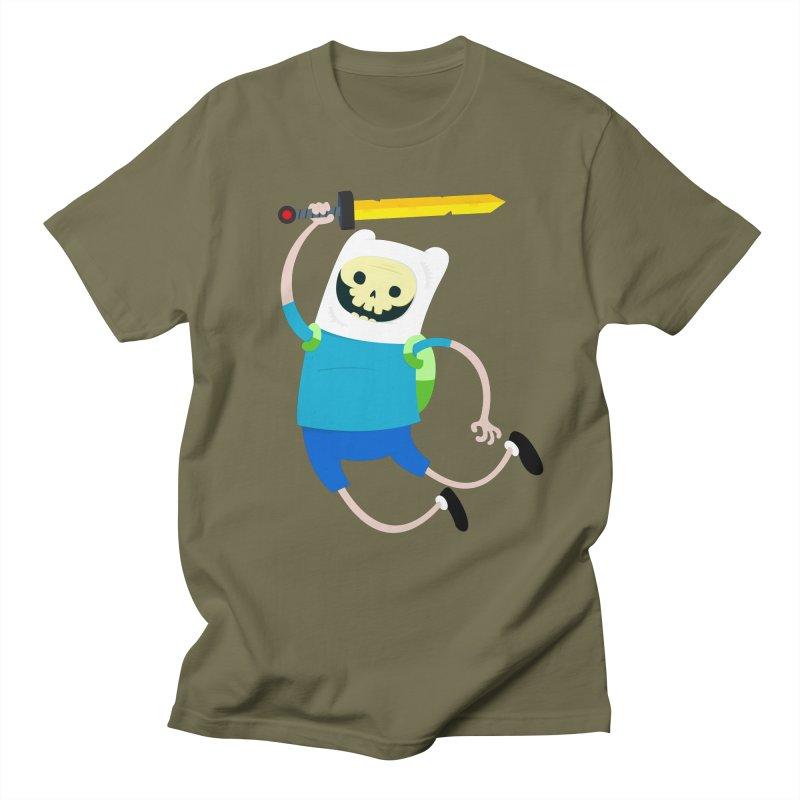 Finn the Skull Men's T-shirt by thiagoegg's Artist Shop